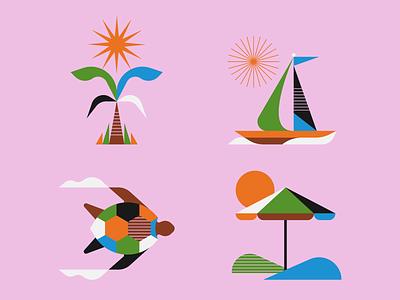 Beachy illustrator illustration