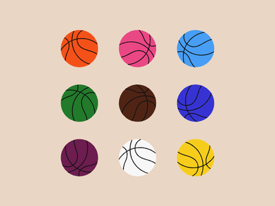 We Are All One basketball illustrator illustration