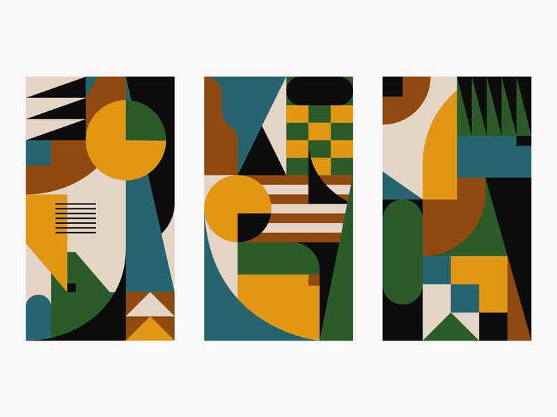 Patterns identity branding graphic design geometric patterns design illustrator illustration