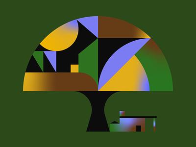 Big Tree illustrator illustration