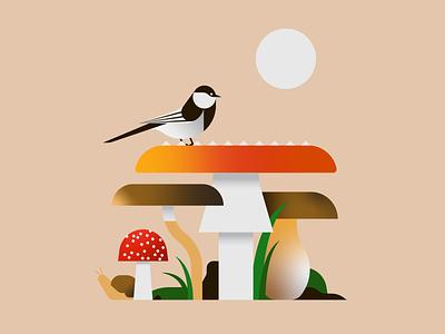 Peekaboo illustrator illustration