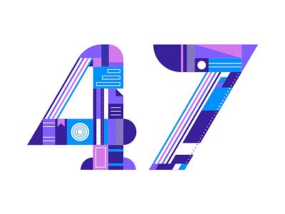 Sketch 47 type 47 book libraries illustration typography blog sketchapp sketch