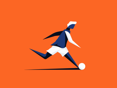 Dribble ball sports sport dribble cup world soccer football character design illustration