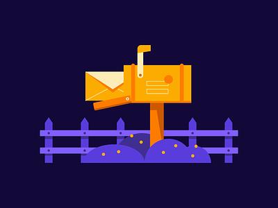 You've Got Mail design newsletter notification illustration email mailbox mail