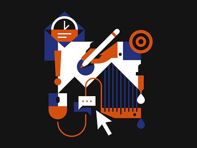 Merch vector t-shirt merchandise graphic design illustration