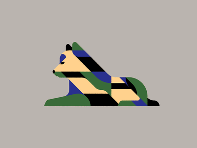 Pupper illustrator geometric illustration pattern geometric puppy animal dog