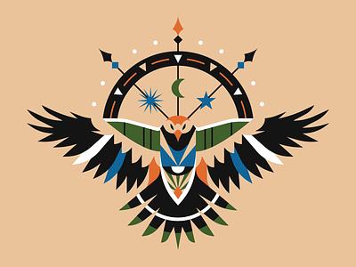 Crow illustrator illustration animal bird