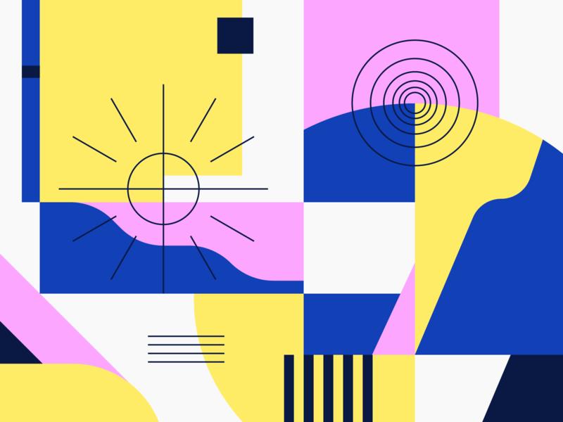 Pattern illustration pattern
