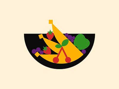 Fruit Bowl illustrator illustration fruit