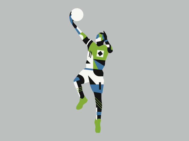 Layup illustrator illustration sports pattern character layup basketball sport
