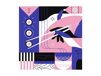 Sushi illustrator illustration food sushi