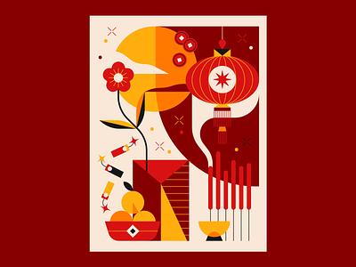 Chinese New Year 2020 illustrator illustration