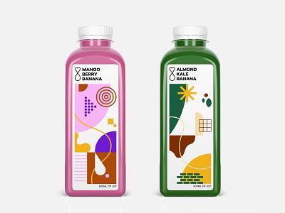 Smoothies smoothies bottle identity illustrator illustration pattern packaging logodesign logo visual identity branding