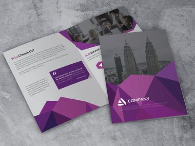 Bi fold Corporate Brochure