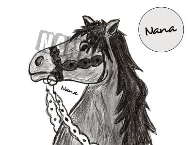 Art: digital sketch sketch horse illustrator slovakartist slovakdesigner ipad digitalart illustration creative nanadigiart procreate