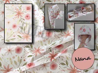 Textile design pattern textile design textile print textile artist slovakartist ipad illustration design creative nanadigiart