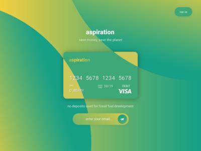 Aspiration Credit Card - Day 03