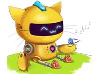 Robo kitty