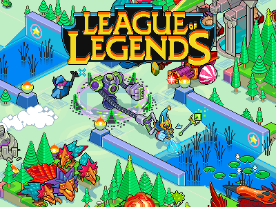 League of Legends Arcade by Megapont on Dribbble