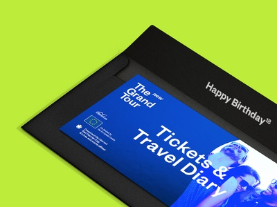 The New Grand Tour bold color print design graphic  design european european union rebranding interrail typography rebrand