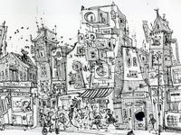 Tokyo Street Sketch