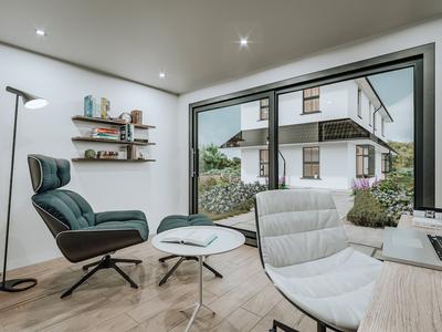 3d render garden house