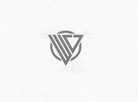 Letter WV Logo