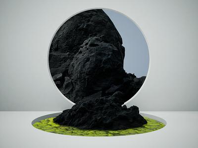 Rock Portal unreal engine 4 3d minimal