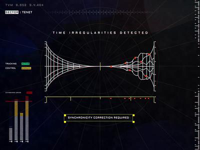 TimeVariationMachine Build.952 Software.Version.404 graphic illustration fui dark animation ui ux