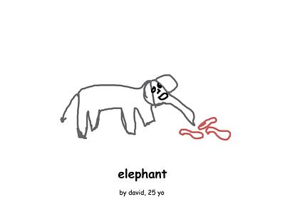 an elephant illustration elephant