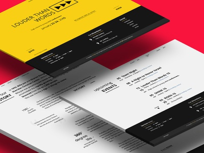 Victory — Redesign Project navigation church graphic typography minimal ux ui web website