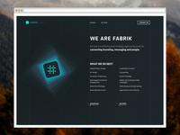 Fabrik Website Design