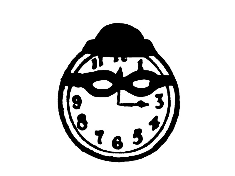 Time Thief robber clock time thief
