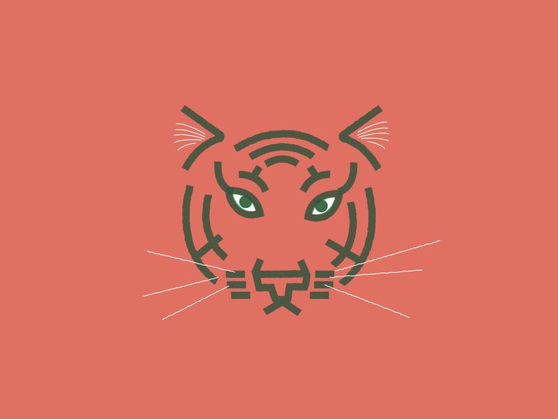 tiger illustration tiger