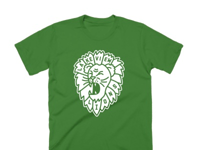 Lakeview Lions probono lion tshirt