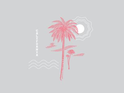 California california palm trees