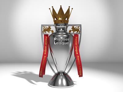 LFC Champions red football render cinema4d premier soccer liverpool trophy 3d
