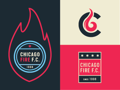 Chicago Fire F C By Paul Roth On Dribbble