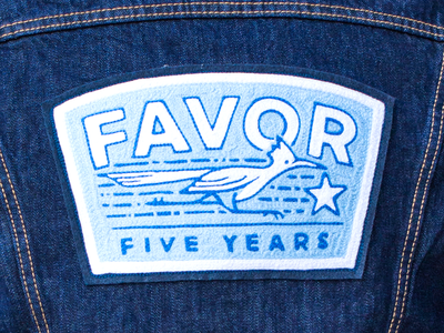 Keep Running anniversay five favor road runner patch