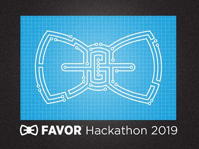 Favor Hackathon 2019 circuit hackathon blue favor