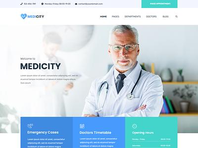 Medical Theme wordpress developer wordpress design website design website minimalist medical design
