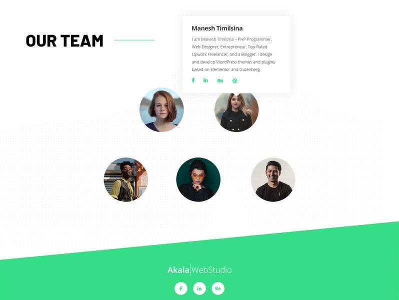 Team Page Design design agency minimalist minimal agency website website team work teams team section concept minimal team section our team design team page design team page our team team
