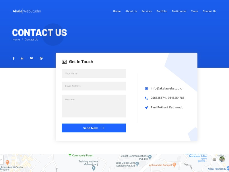 Contact Us Page clean contact page minimal contact page contact page layout clean design minimal contact form contacts contact contact page concept contact page design contact us contact page