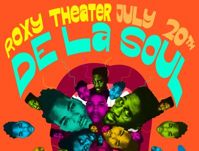 De La Soul Gig Poster