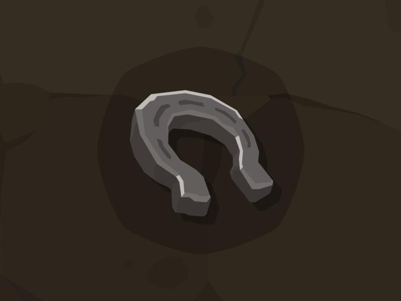 Stone Icon Horseshoes horseshoe rpg icon icon game icon layerlab game design mobile game