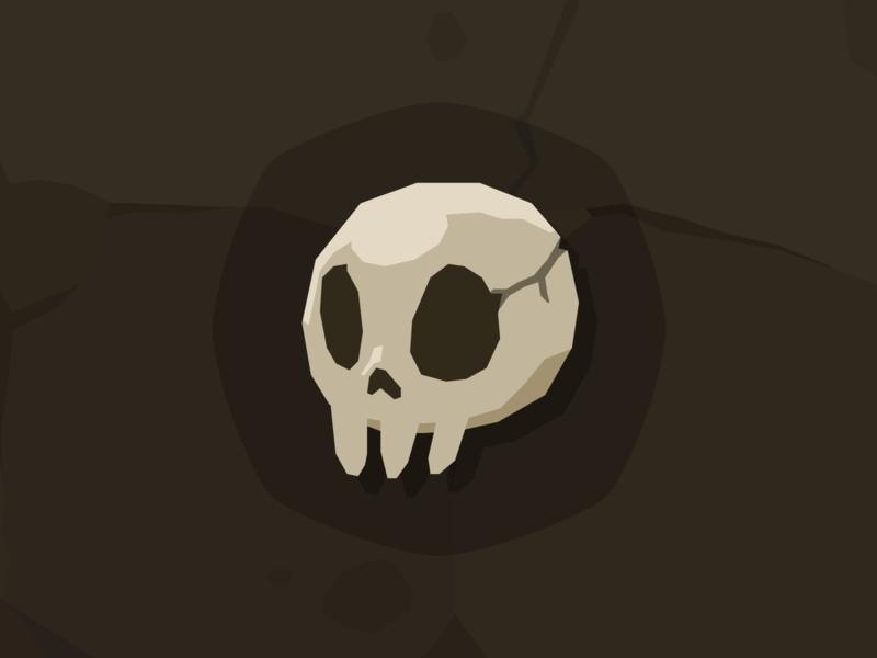 Stone Icon Skull skull mobile game game design layerlab assetstore game icon
