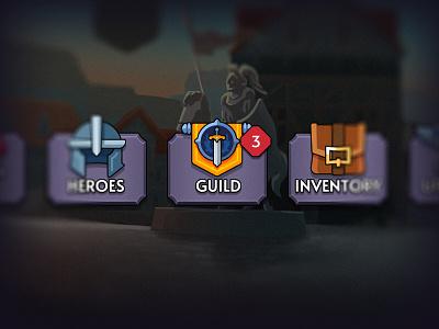 New Asset icons menu layerlab game asset rpg fantasy