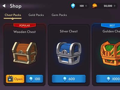 Fantasy RPG Chest layerlab game fantasy icon store shop chest rpg