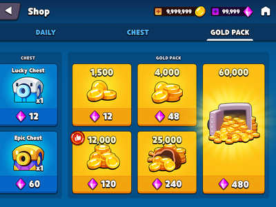 GUI Pro Kit Casual shop gold icon money coin gold market store shop asset gui game casual layerlab