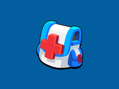 GUI Pro Kit Casual Icon Emergency bag emergency item asset heal bag icon game casual layerlab